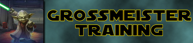 Event: Grossmeister Training
